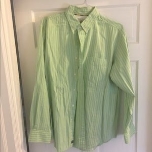 Men's Striped Button Down